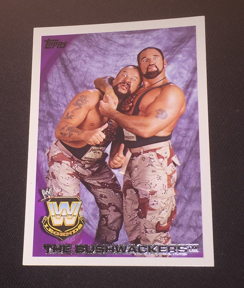 The Bushwhackers WWE Legends Wrestling Trading Card