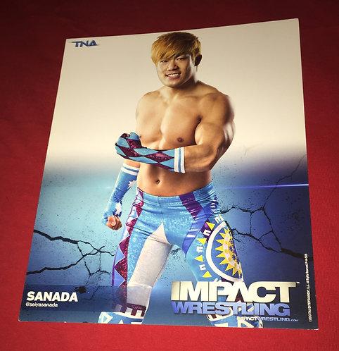 Sanada 8x10 Promo Photo