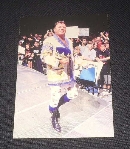 "Jerry ""The King"" Lawler WWE Wrestling Trading Card"