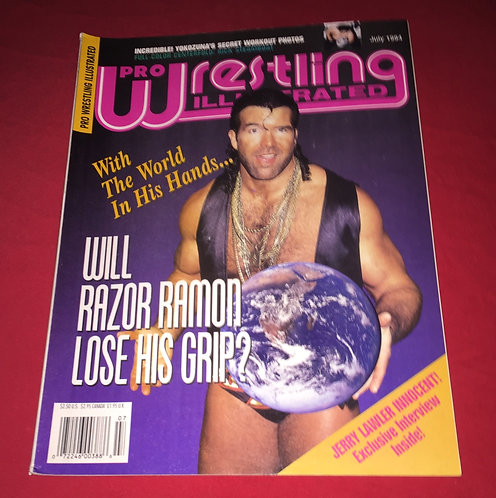 Pro Wrestling Illustrated July 1994 Razor Ramon