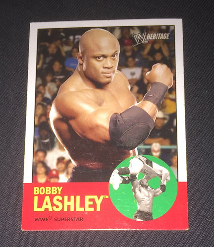 Bobby Lashley WWE Wrestling Trading Card