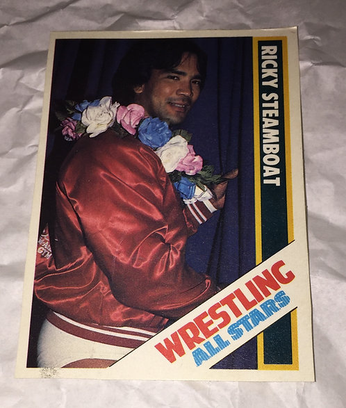 Ricky Steamboat Wrestling All-Stars Trading Card - NWA, Mid-Atlantic