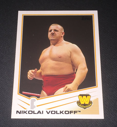 Nikolai Volkoff WWE Legends Wrestling Trading Card