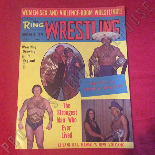 The Ring Wrestling - December 1975