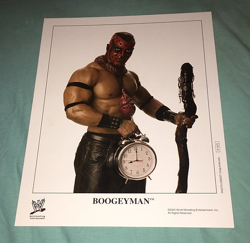 BoogeyMan WWF/WWE Promo Photo P-1072 (2005)