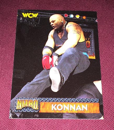 Konnan WCW Wrestling Trading Card
