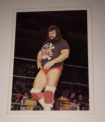 """Dr. Death"" Steve Williams NWA Wrestling Trading Card"