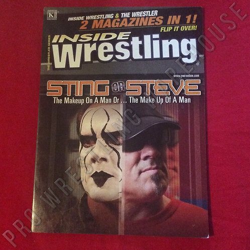 Inside Wrestling - 2 Magazines in 1! - Volume 7, 2006