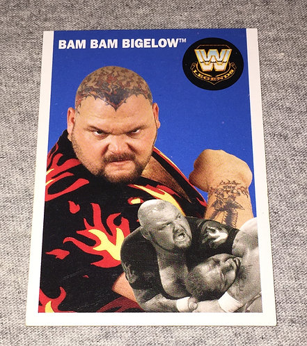 Bam Bam Bigelow WWE Legends Wrestling Trading Card