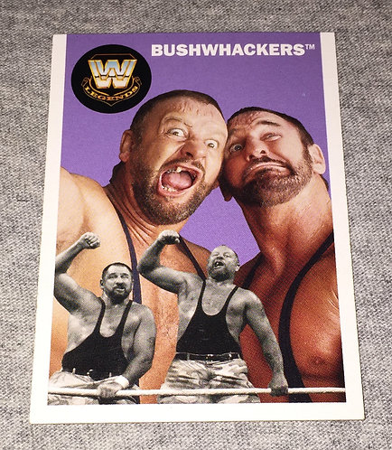 Bushwhackers WWE Legends Wrestling Trading Card
