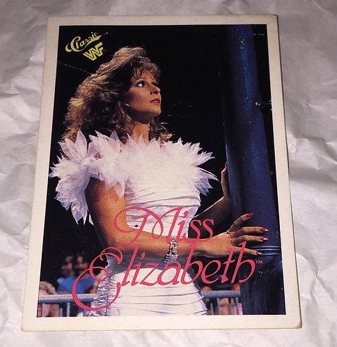 Miss Elizabeth WWF/WWE Classic Wrestling Trading Card
