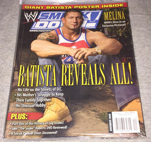 WWE Smackdown Magazine November 2005 - Batista