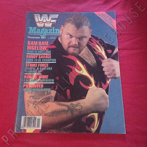 WWF Magazine - November 1987