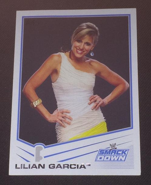 Lilian Garcia WWE Wrestling Trading Card