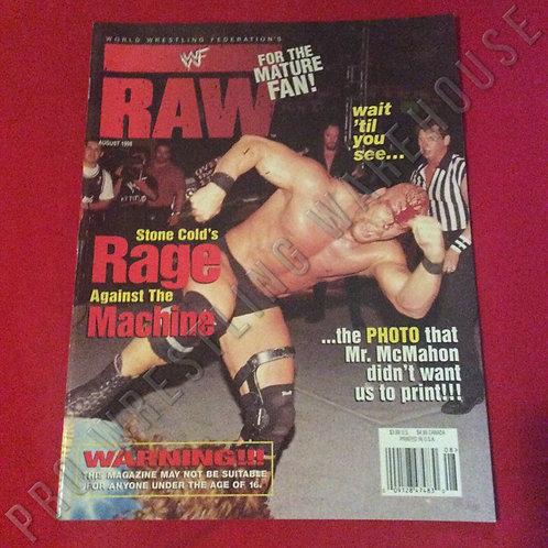 WWF RAW - August 1998