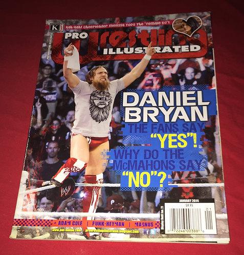 Pro Wrestling Illustrated January 2014 - Daniel Bryan
