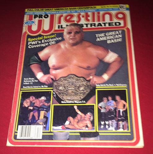 Pro Wrestling Illustrated December 1986 - Dusty Rhodes