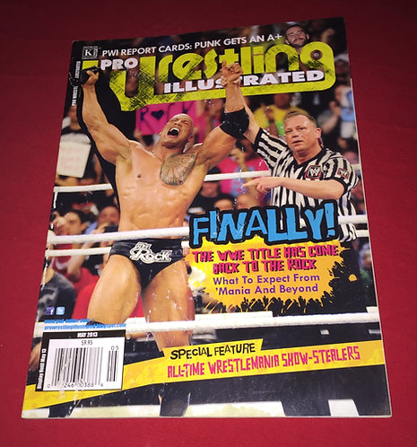Pro Wrestling Illustrated May 2013 - Rock