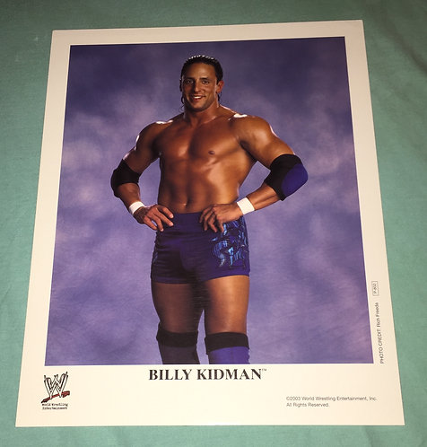 Billy Kidman WWF/WWE Promo Photo P-802 (2003)