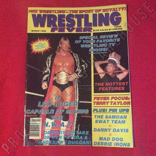 Wrestling Fever - March 1989