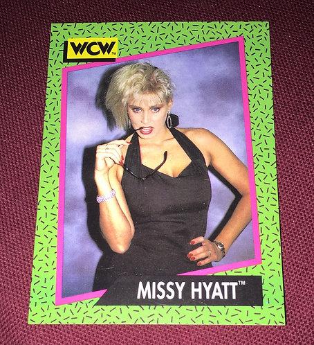 Missy Hyatt WCW Wrestling Trading Card