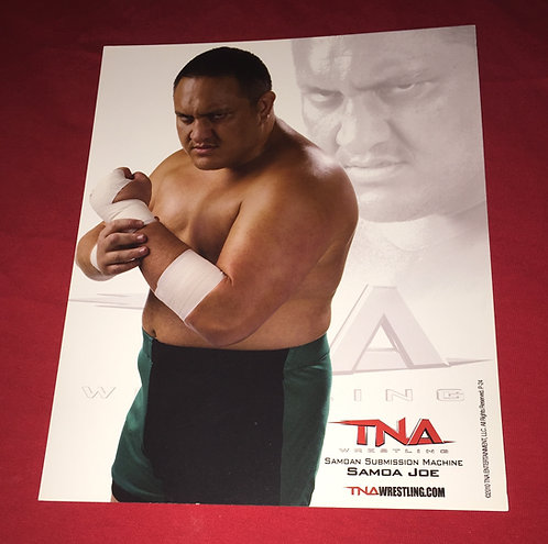 Samoa Joe 8x10 Promo Photo