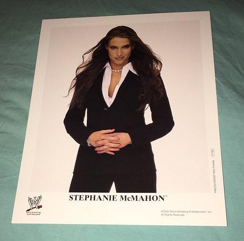 Stephanie McMahon WWF/WWE Promo Photo P-786 (2002)