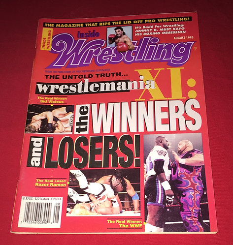 Inside Wrestling August 1995 - Wrestlemania 11