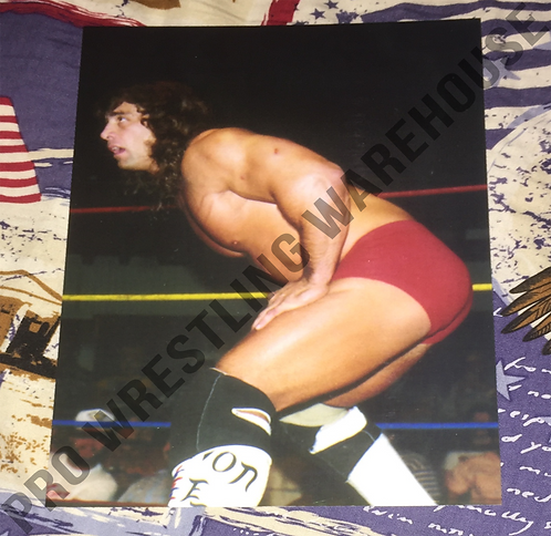 Kerry Von Erich in ring ready for action - 4x6 Wrestling Photo, WCCW, USWA
