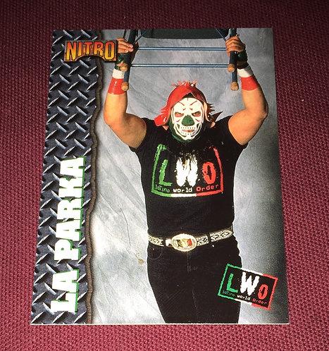 LA Parka WCW Wrestling Trading Card - Nitro, LWO, AAA, CMLL