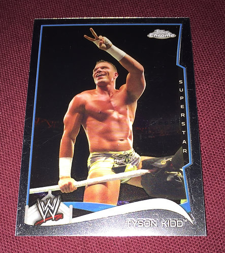 Tyson Kid WWE Topps Chrome Wrestling Card