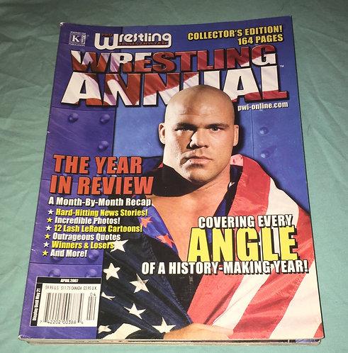 Pro Wrestling Illustrated Annual - April 2007 Kurt Angle