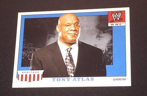 Tony Atlas WWE Wrestling Trading Card