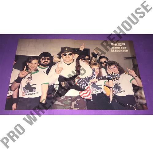 Sgt. Slaughter, AWA, WWF, WWE, Wrestling Poster