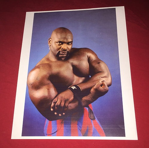 Ahmed Johnson Wrestling Promo Photo
