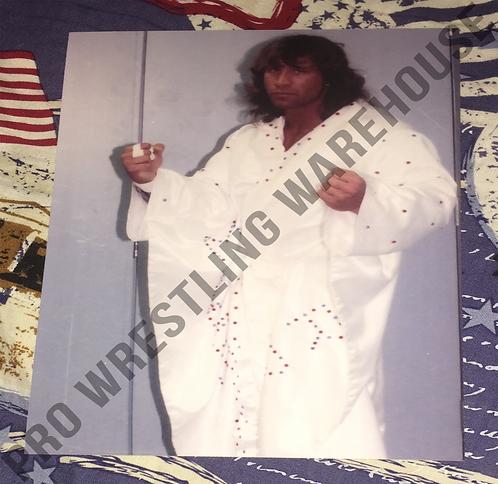Kerry Von Erich 4x6 Wrestling Photo - Posed, White Robe