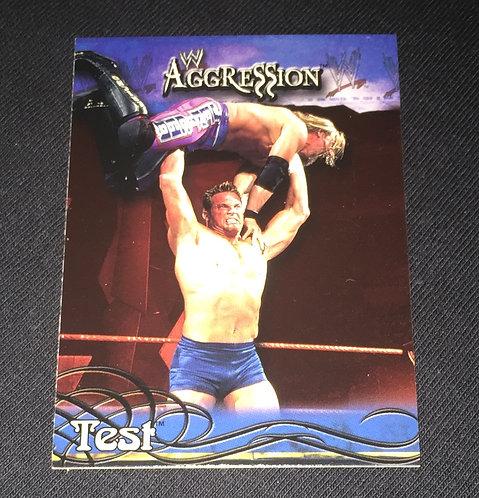 TEST WWE Wrestling Trading Card