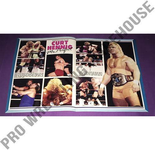 Mr. Perfect, Curt Hennig, WWF, WWE, Wrestling Poster