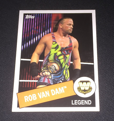 Rob Van Dam WWE Legends Wrestling Trading Card