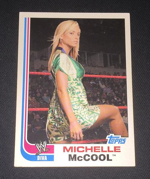 Michelle McCool WWE Wrestling Trading Card