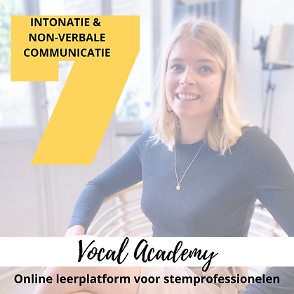 Intonatie & non-verbale communicatie
