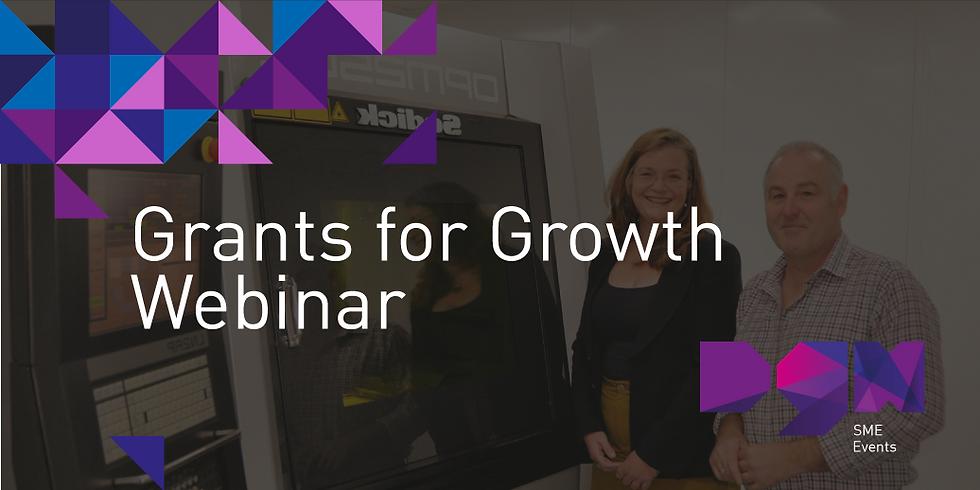 Grants for Growth - Webinar