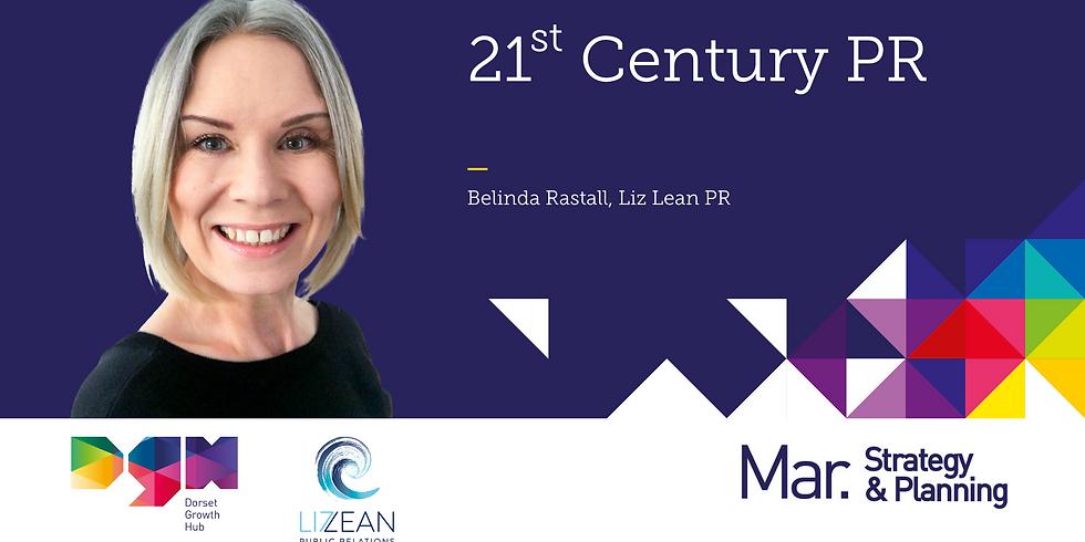 21st Century PR with Belinda Rastall of Liz Lean PR