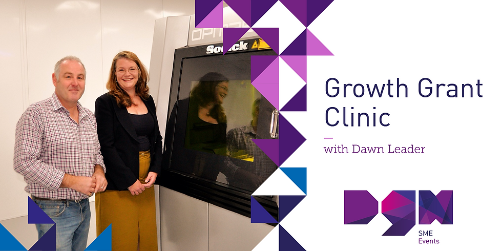 Growth Grant Clinic with Dawn Leader