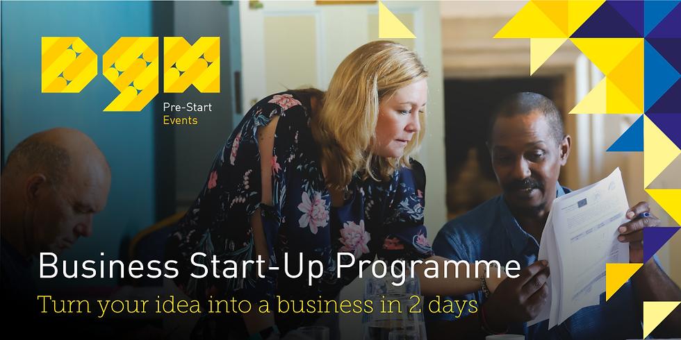Business Start-up Programme - Webinar