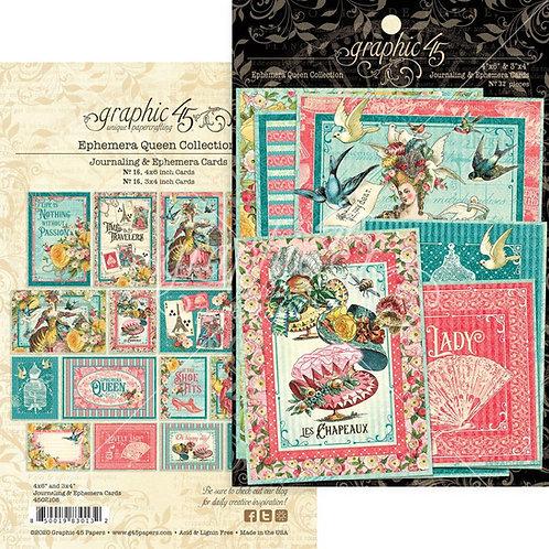Ephemera Queen Journalling Cards