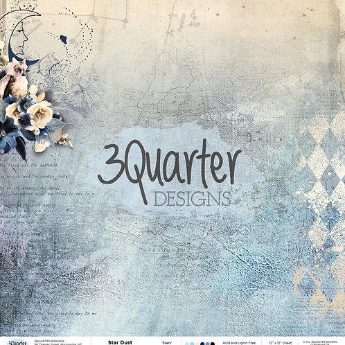 "3Quarter - Stars 12"" paper"
