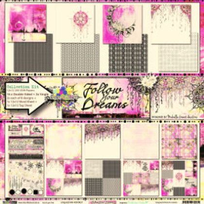 Follow Your Dreams paper pack
