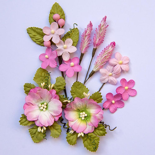 Blush Wildflowers 8/Pkg