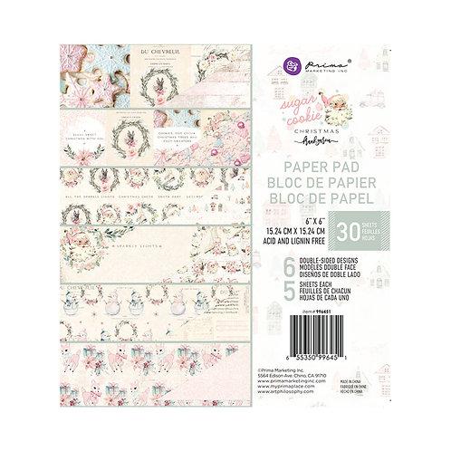 """Sugar Cookie 6"""" paper pad"""